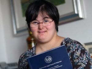 Giusi Spagnolo, prima donna al mondo con sindrome di Down